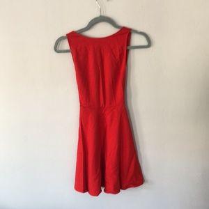 American Apparel red dress